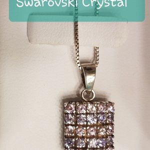 Jewelry - Brilliant pink and clear Crystals